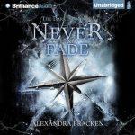 "Audio Book Cover for ""Never Fade"" by Alexandra Bracken"