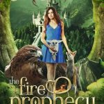 """Book Cover for """"The Fire Prophecy"""" by Megan Linski and Alicia Rades"""