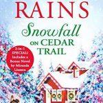 """Book Cover for """"Snowfall on Cedar Trail"""" by Annie Rains"""