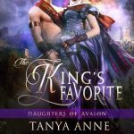 """Book Cover for """"The King's Favorite"""" by Tanya Anne Crosby"""