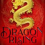 """Book Cover for """"Dragon Rising"""" by M. Lynn"""