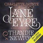 """Audiobook Cover for """"Jane Eyre"""" by Charlotte Bronte"""