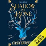 """Audiobook Cover for """"Shadow and Bone"""" by Leigh Bardugo"""