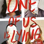 """Book Cover for """"One of Us is Lying"""" by Karen M. McManus"""