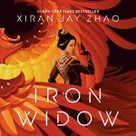 """Audiobook Cover for """"Iron Widow"""" by Xiran Jay Zhao"""